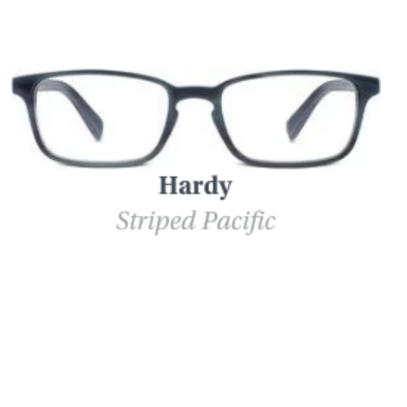Warby Parker Accessories | Striped Pacific Hardy Frames Nwt | Poshmark